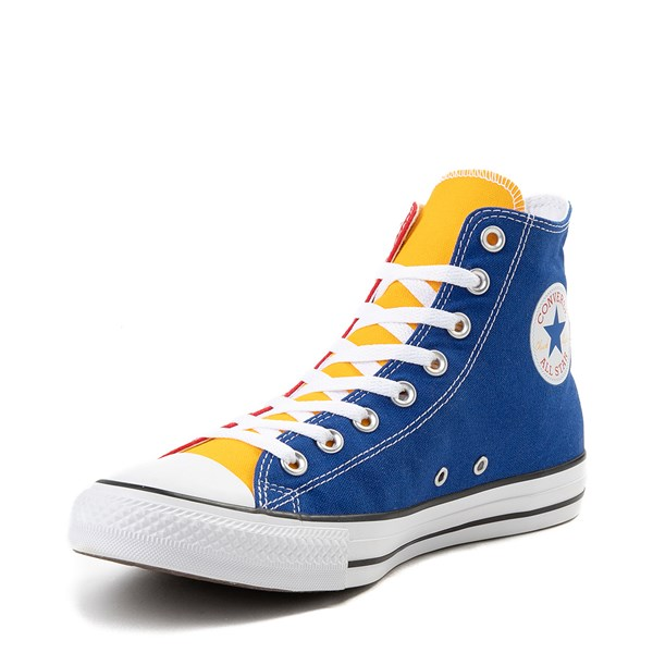 alternate view Converse Chuck Taylor All Star Hi Color-Block SneakerALT3