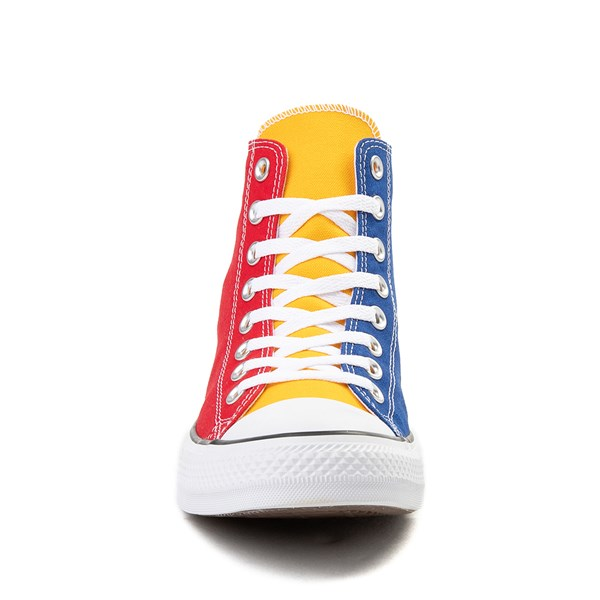 alternate view Converse Chuck Taylor All Star Hi Color-Block SneakerALT4