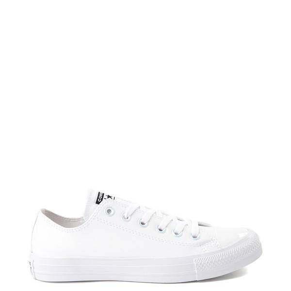 Default view of Converse Chuck Taylor All Star Lo Patent Sneaker - White Monochrome