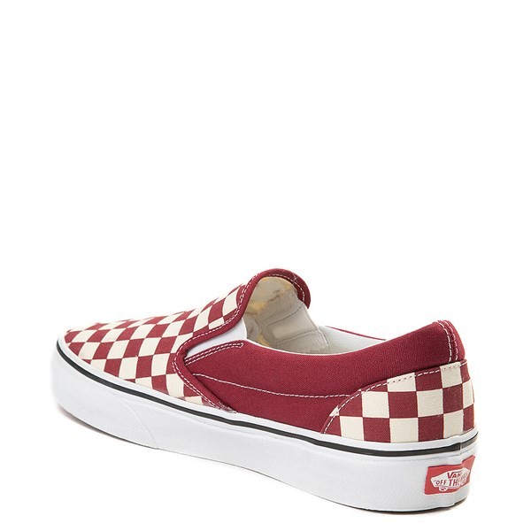 alternate view Vans Slip On Chex Skate ShoeALT2