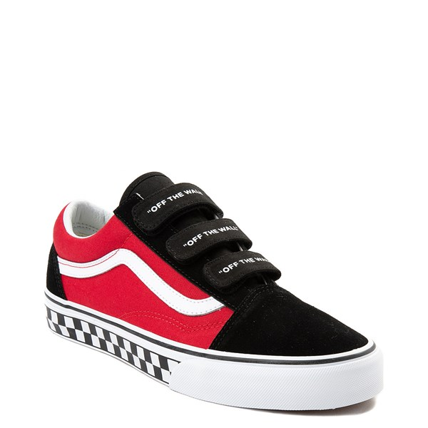 alternate view Vans Old Skool V Logo Pop Skate ShoeALT1