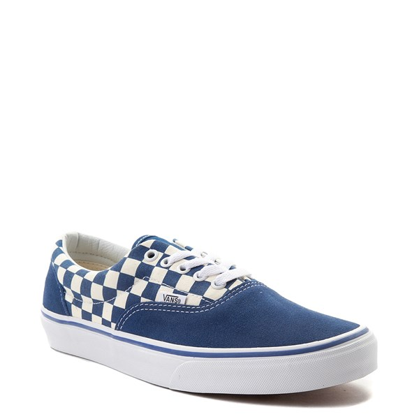 Alternate view of Vans Era Checkerboard Skate Shoe - Blue / White