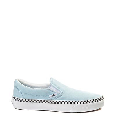 Cool Blue Vans Slip On Chex Skate Shoe