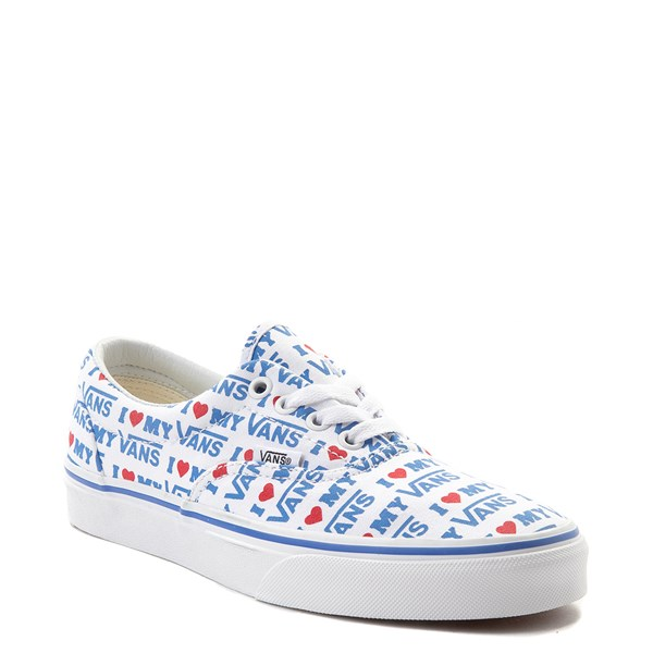 alternate view Vans Era I Heart My Vans Skate Shoe - White / MultiALT1