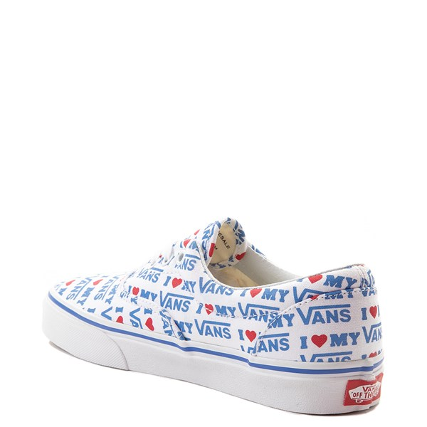 alternate view Vans Era I Heart My Vans Skate Shoe - White / MultiALT2