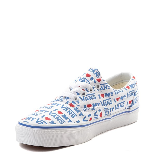 alternate view Vans Era I Heart My Vans Skate Shoe - White / MultiALT3