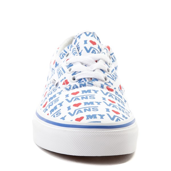 alternate view Vans Era I Heart My Vans Skate Shoe - White / MultiALT4