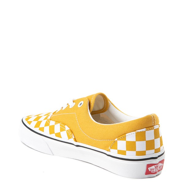 alternate view Vans Era Checkerboard Skate Shoe - Yolk YellowALT2