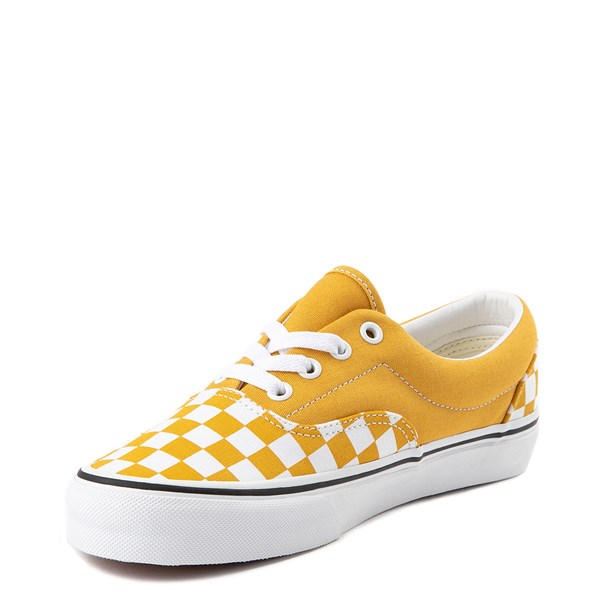 alternate view Vans Era Checkerboard Skate Shoe - Yolk YellowALT3