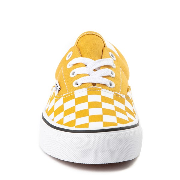 alternate view Vans Era Checkerboard Skate Shoe - Yolk YellowALT4