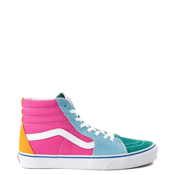 Default view of Vans Sk8 Hi Color-Block Skate Shoe - Multi
