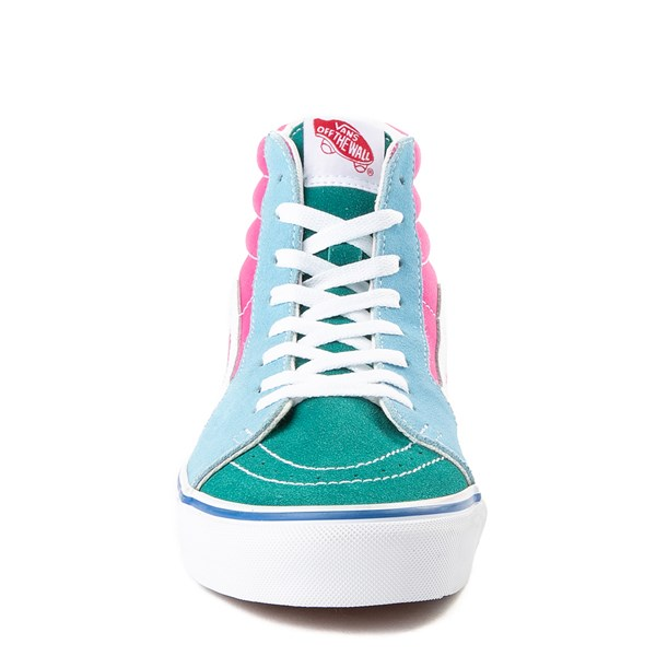 alternate view Vans Sk8 Hi Color-Block Skate Shoe - MultiALT4