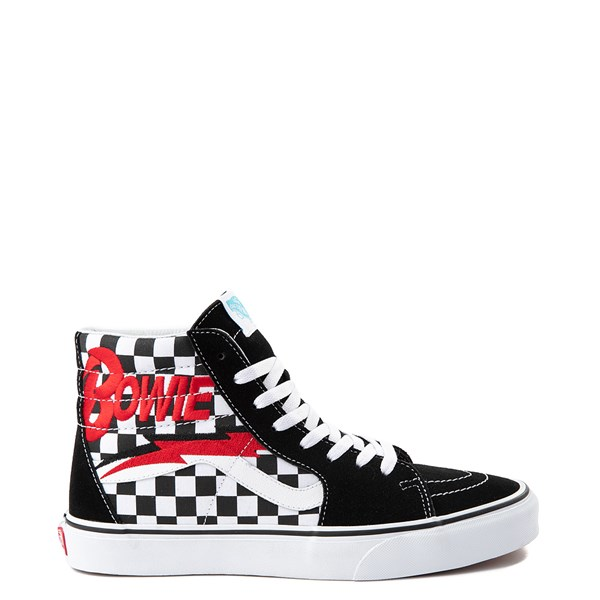 Vans x David Bowie Sk8 Hi Chex Skate Shoe