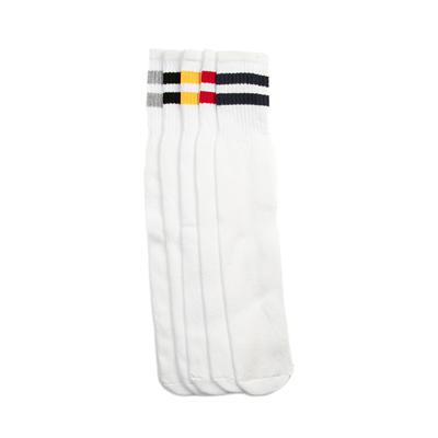 Alternate view of Classic Tube Socks 5 Pack - White / Multi
