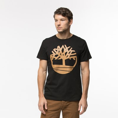 Main view of Mens Timberland Core Logo Crew Tee