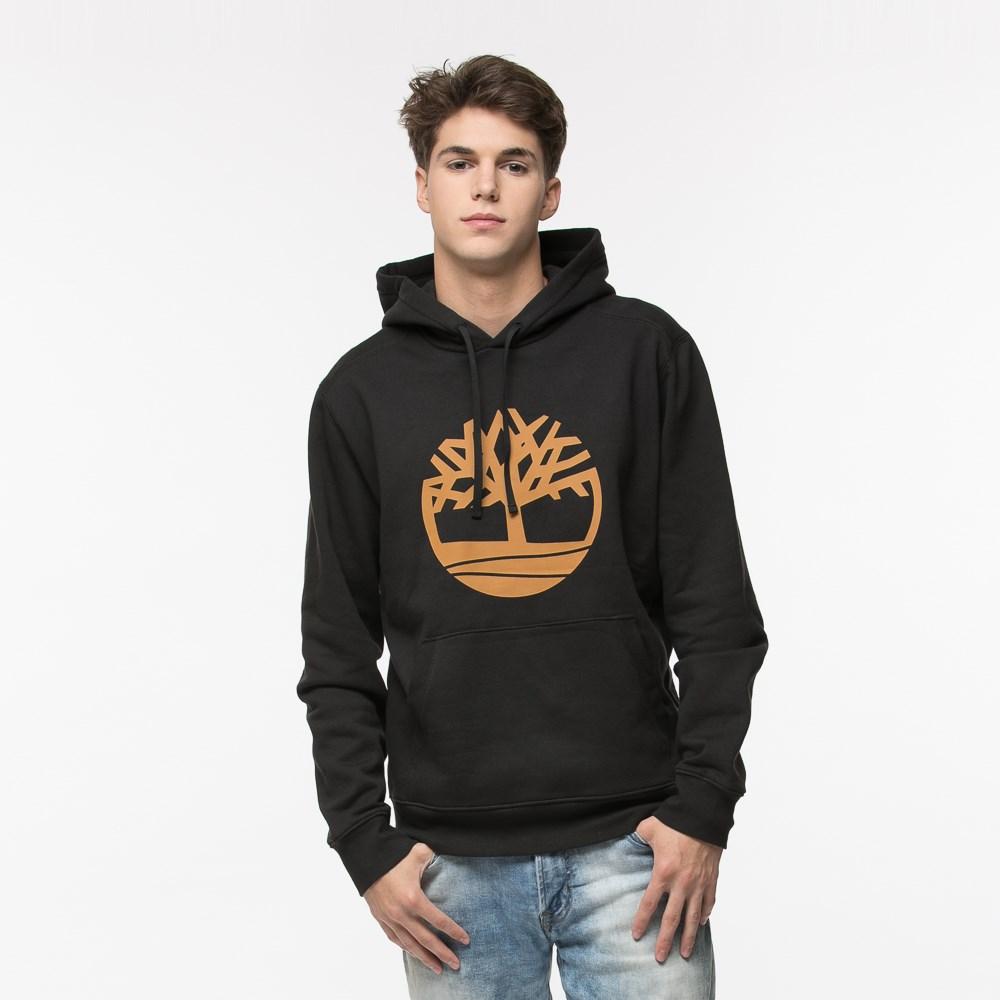 Mens Timberland Logo Hoodie