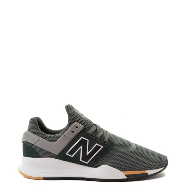 Mens New Balance 247 V2 Athletic Shoe - Green / Gold / Black