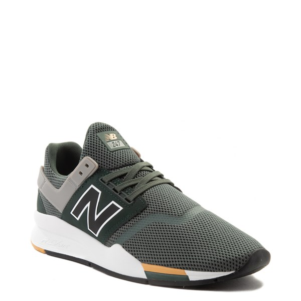 alternate view Mens New Balance 247 V2 Athletic Shoe - Green / Gold / BlackALT1