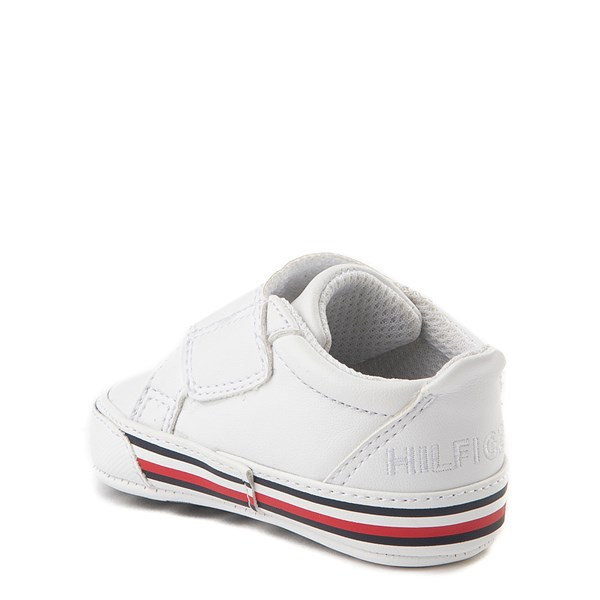 alternate view Tommy Hilfiger Heritage Layette Casual Shoe - Baby - WhiteALT2
