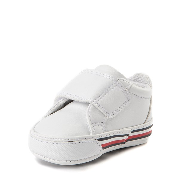alternate view Tommy Hilfiger Heritage Layette Casual Shoe - Baby - WhiteALT3