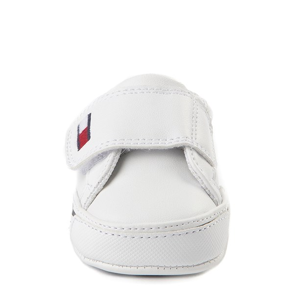 alternate view Tommy Hilfiger Heritage Layette Casual Shoe - Baby - WhiteALT4