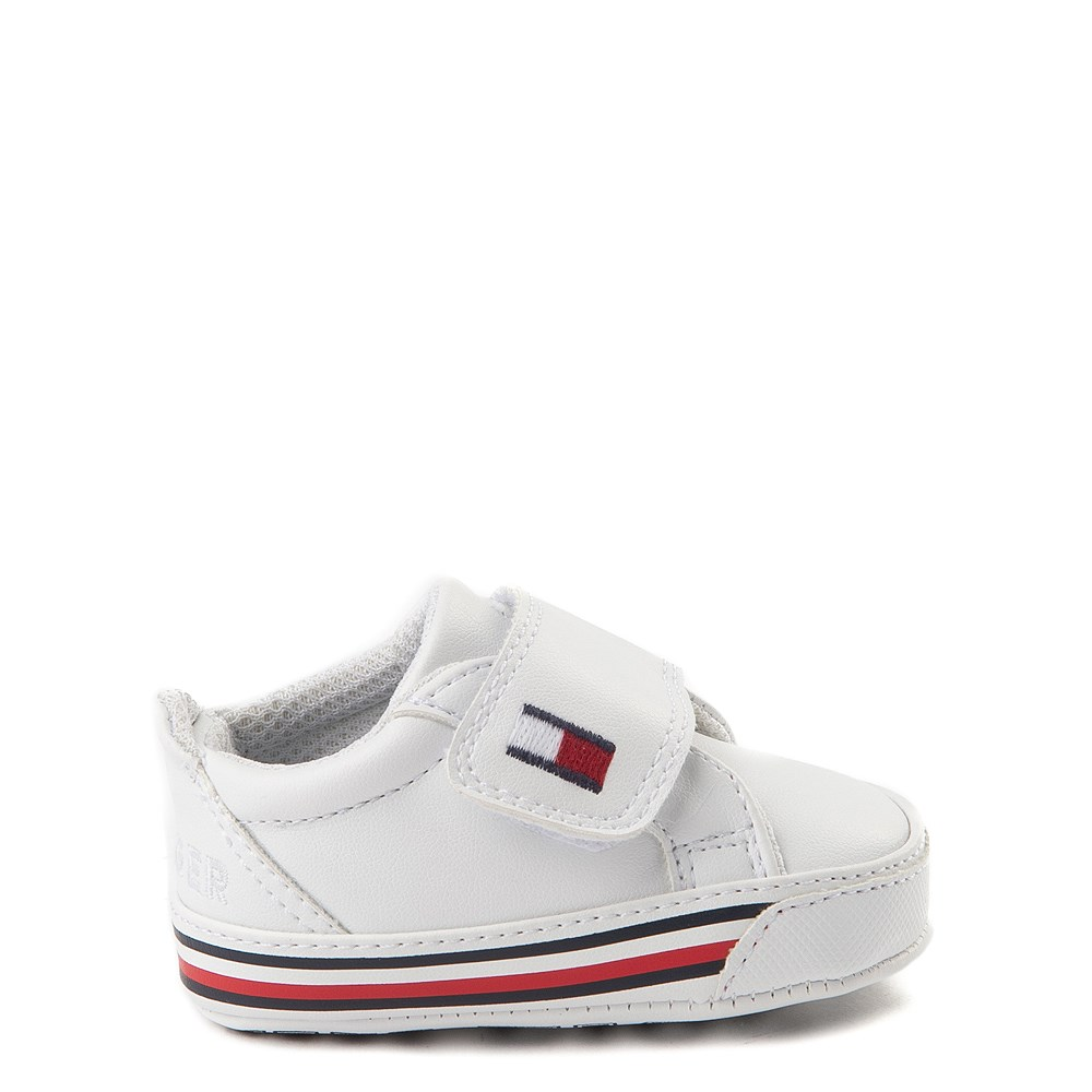 Tommy Hilfiger Heritage Layette Casual Shoe - Baby - White
