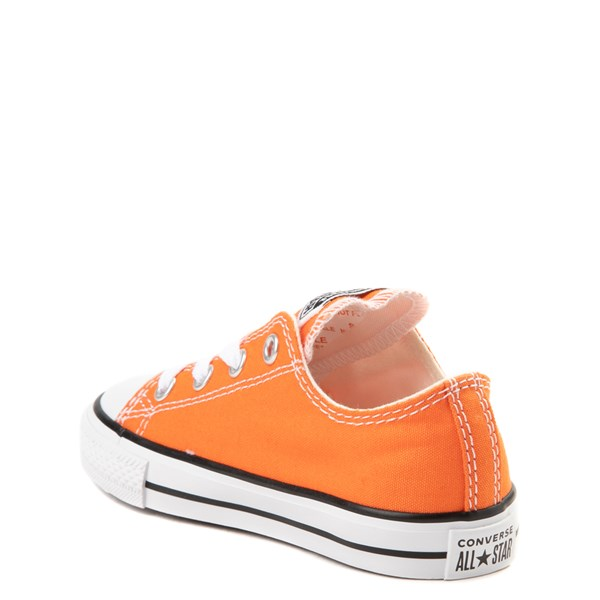 alternate view Converse Chuck Taylor All Star Lo Sneaker - Baby / Toddler - Golden Poppy OrangeALT2