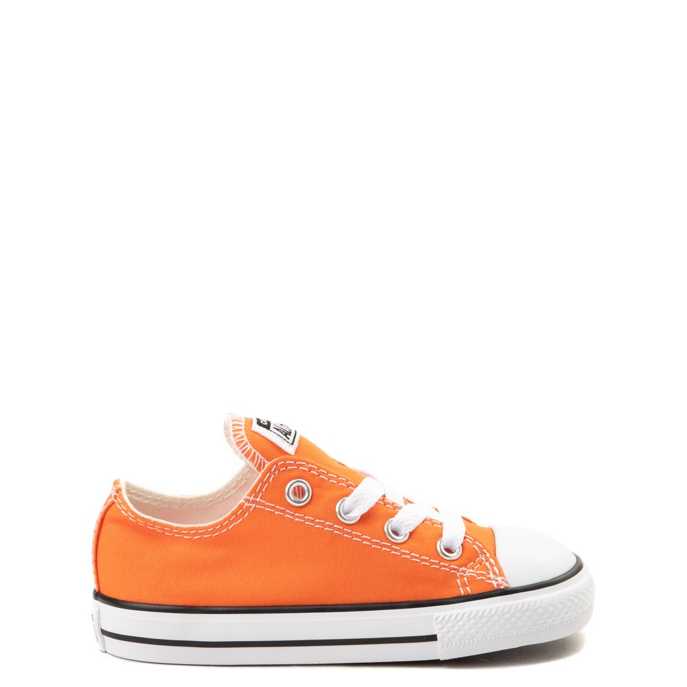 Converse Chuck Taylor All Star Lo Sneaker - Baby / Toddler - Golden Poppy Orange