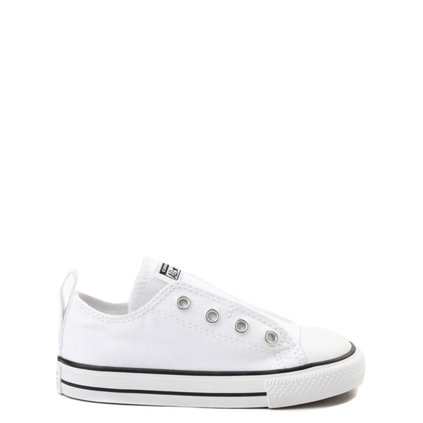 Default view of Converse Chuck Taylor All Star Simple Sneaker - Baby / Toddler - White