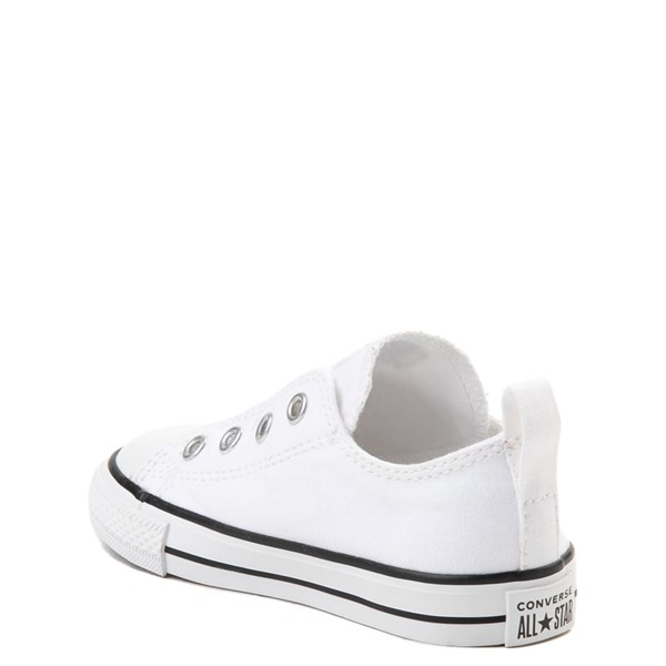alternate view Converse Chuck Taylor All Star Simple Sneaker - Baby / Toddler - WhiteALT2