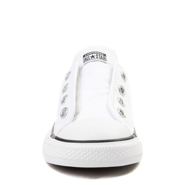 alternate view Converse Chuck Taylor All Star Simple Sneaker - Baby / Toddler - WhiteALT4