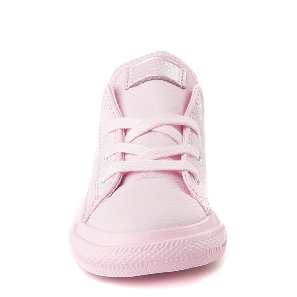 alternate view Converse Chuck Taylor All Star Lo Leather Sneaker - Baby / ToddlerALT4