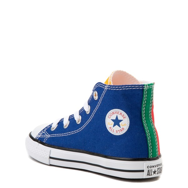 alternate view Converse Chuck Taylor All Star Hi Color-Block Sneaker - Baby / ToddlerALT2