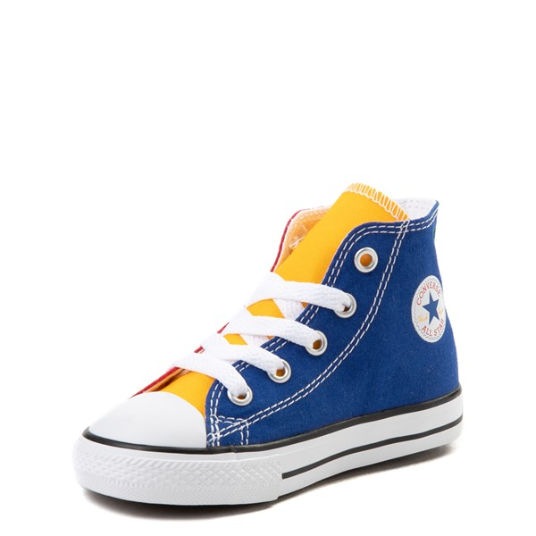 alternate view Converse Chuck Taylor All Star Hi Color-Block Sneaker - Baby / ToddlerALT3