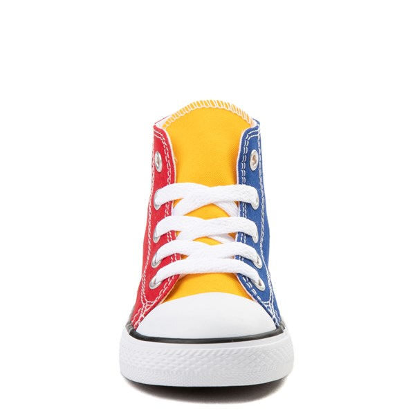 alternate view Converse Chuck Taylor All Star Hi Color-Block Sneaker - Baby / ToddlerALT4