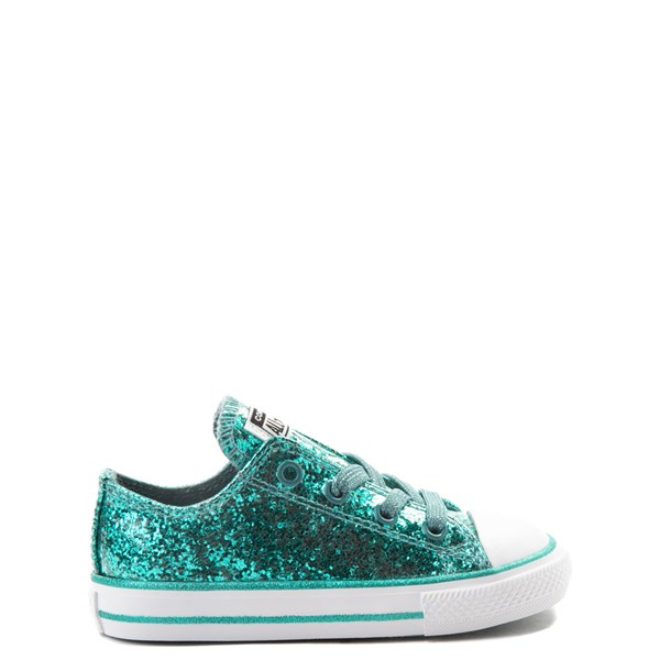 Converse Chuck Taylor All Star Lo Glitter Sneaker - Baby / Toddler