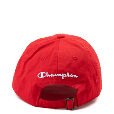 Alternate view of Champion Dad Hat - Red