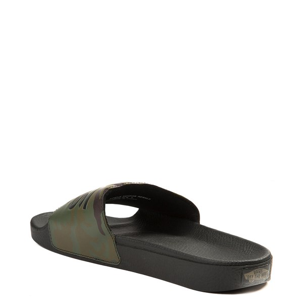 alternate view Mens Vans Slide On Sandal - Black / CamoALT2