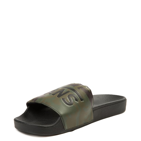 alternate view Mens Vans Slide On Sandal - Black / CamoALT3