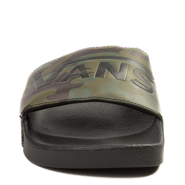 alternate view Mens Vans Slide On Sandal - Black / CamoALT4
