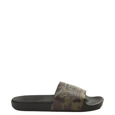 Main view of Mens Vans Slide On Sandal - Black / Camo