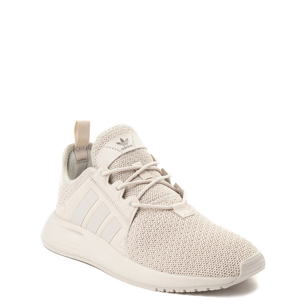 alternate view adidas X_PLR Athletic Shoe - Little Kid - Beige MonochromeALT1
