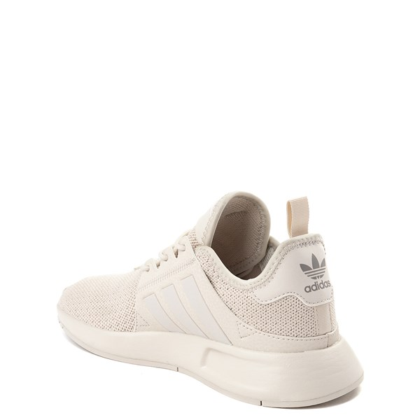 alternate view adidas X_PLR Athletic Shoe - Little Kid - Beige MonochromeALT2