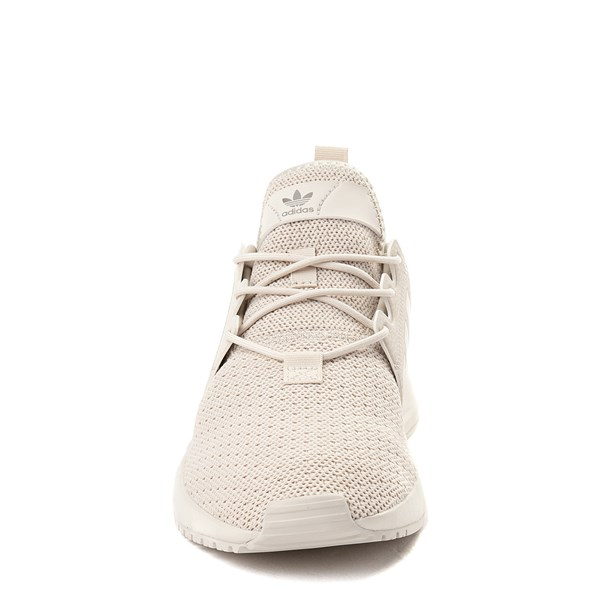 alternate view adidas X_PLR Athletic Shoe - Little Kid - Beige MonochromeALT4