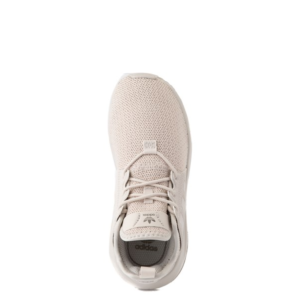 alternate view adidas X_PLR Athletic Shoe - Little Kid - Beige MonochromeALT4B