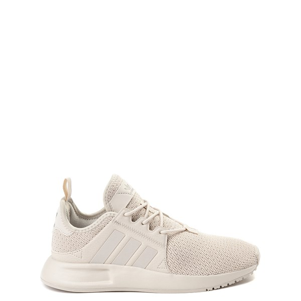 Main view of adidas X_PLR Athletic Shoe - Big Kid - Beige Monochrome
