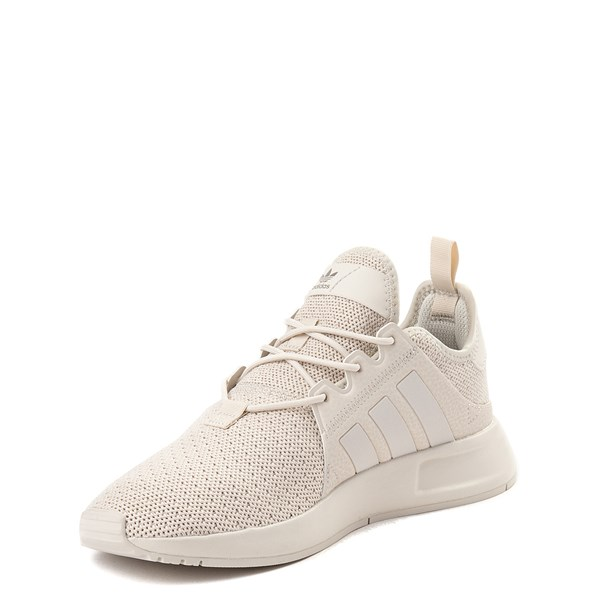 alternate view adidas X_PLR Athletic Shoe - Big Kid - Beige MonochromeALT3