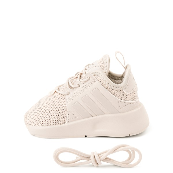 alternate view adidas X_PLR Athletic Shoe - Toddler - Beige MonochromeALT1