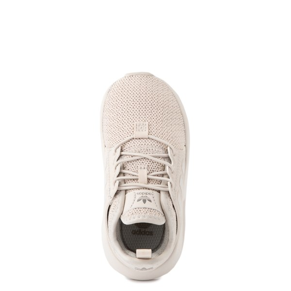 alternate view adidas X_PLR Athletic Shoe - Toddler - Beige MonochromeALT4B