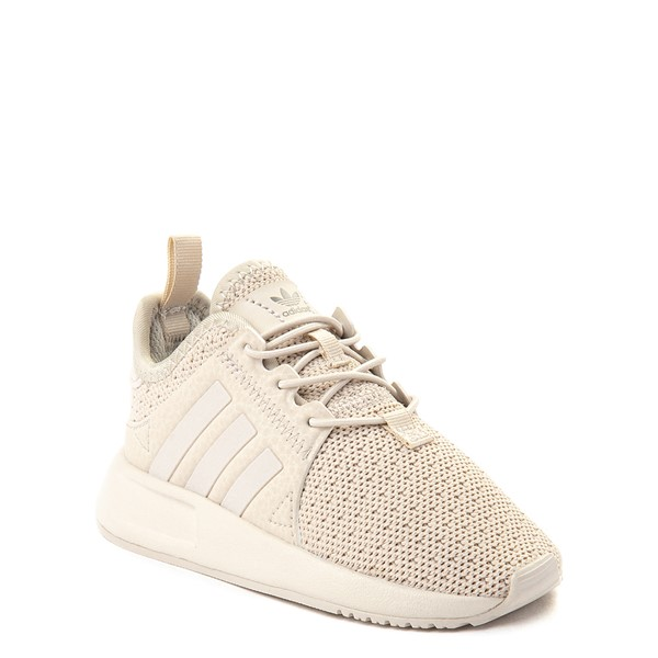 alternate view adidas X_PLR Athletic Shoe - Toddler - Beige MonochromeALT5